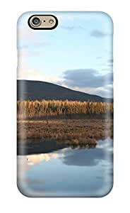 Fashion Tpu Case For Iphone 6- River Earth Nature River Defender Case Cover
