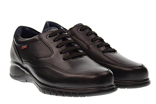 scarpa NERO STAR 12702 HORSE uomo basse sneakers Nero CALLAGHAN AqwaTa