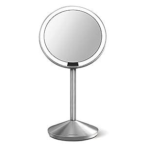 Amazon Com Simplehuman 5 Inch Sensor Mirror Lighted