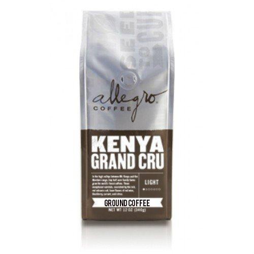 2 - 12oz Bags of Allegro Ground Coffee (Kenya Grand Cru)