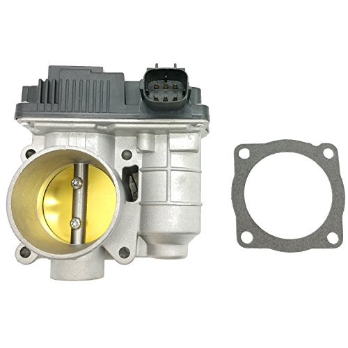 OKAY MOTOR 50MM TBI Fuel Injection Throttle Body for 2003-2006 Nissan Sentra 1.8L L4 QG18DE