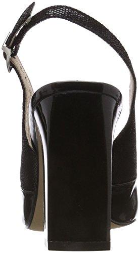 Cinturino 19 Caprice Caviglia Nero con 29604 Comb alla Donna Sandali Black qvwtgvxa
