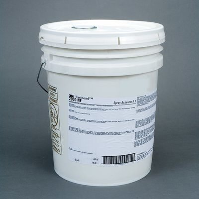 (3M Fastbond Activator - Clear Liquid 30 gal Drum - For Use With 2000NF Adhesive, Contact Adhesive 30NF, Foam Adhesive 100NF - 39289 [PRICE is per DRUM])