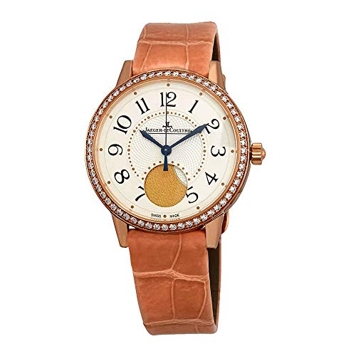 Jaeger LeCoultre Rendez-Vous Cream Dial Automatic Ladies Pink Leather Watch ()