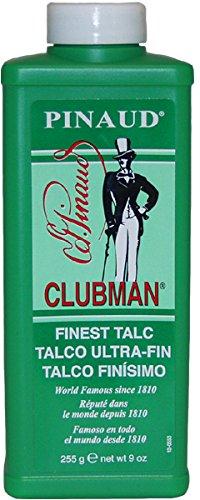 Clubman Talc - White, 9 oz