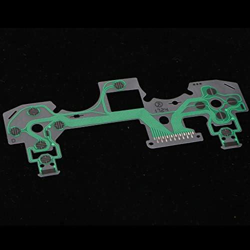 PS4コントローラ用 導電性フィルムキーパッド 2個入 フレックスケーブル 交換部品