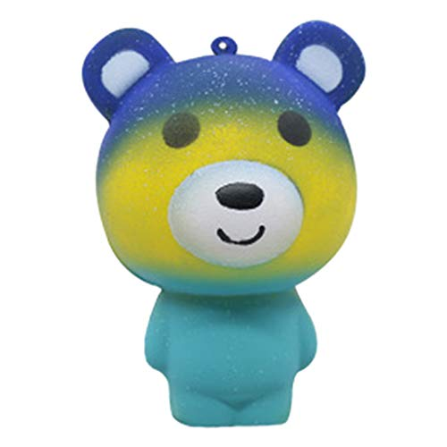 Yamart Cute Bear Toy - Squirt Bath Tub Toy for Kids, Squeezable and Figurine Party Favor Supplies Toys Decoration and Stress Relief for Party Favors and Bulk Items ()