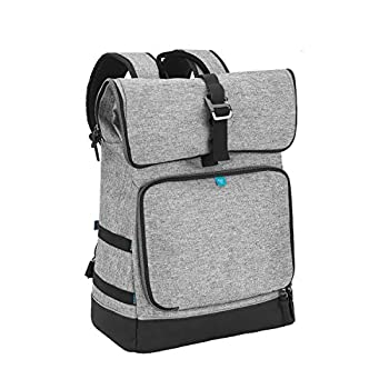 Babymoov Sancy Diaper Bag Backpack | Unisex Again Pack With Heavy Obligation Roll-Prime Closure, Massive Insulated Compartment, Altering Pad And Equipment