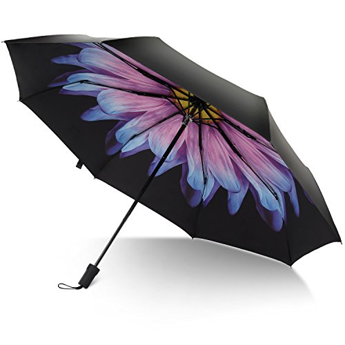 rainlax travel umbrella anti uv protection canopy parasol sun rain compact windproof umbrellas. Black Bedroom Furniture Sets. Home Design Ideas