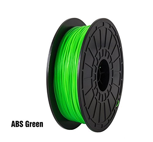 ABS-Green-FlashForge-3D-Printer-Premium-Filament-175-mm-Diameter-NW06-Kg-Per-Spool-for-Dreamer-3D-Printer-Not-for-Finder