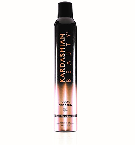 Kardashian Beauty Pure Glitz Hairspray, 12 Ounce