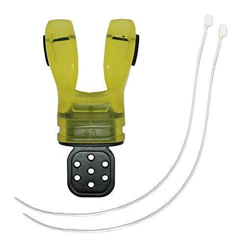 Seacure Custom Mouthpiece (Scuba Choice Custom Fit Mouthpiece, Yellow)
