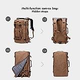 WITZMAN Canvas Backpack Vintage Travel Backpack