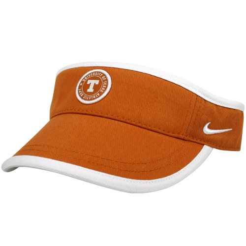 NIKE Texas Longhorns Burnt Orange Ladies New Visor by NIKE