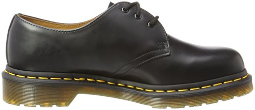 Dr Black Derby 59 Martens Mixte Noir Adulte 1461 Smooth 7WZ71a0Rrw