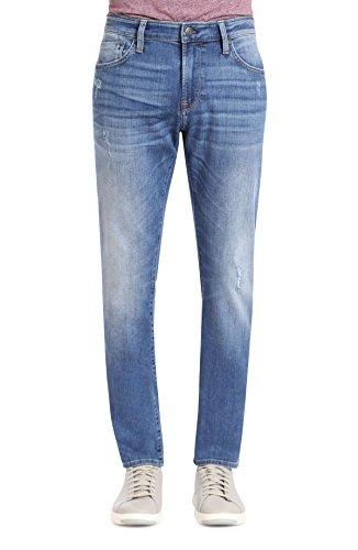 In Jeans Worn Mavi (Mavi Men's Jake Regular-Rise Tapered Slim Fit Jeans, Lt Destructed Authentic Vintage, 32W X 32L)