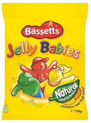 Bassett's Jelly Babies Bag 12X190G by Bassett's by Bassett's
