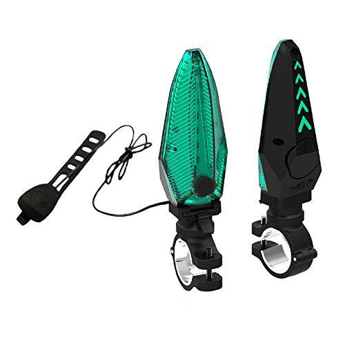 Rechargeable Bike Tail Light Long Battery Life Bicycle Tail Lights - USB Rear Bike Light for Road Bike, MTB, Helmet