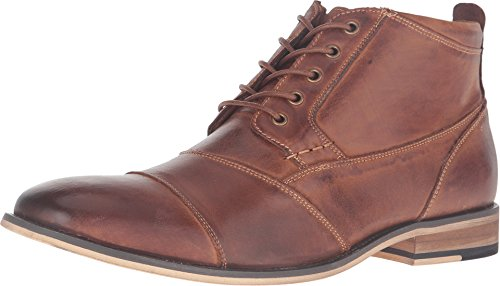 Steve Madden Men's Jabber Boot, Dark Tan, 10 M US