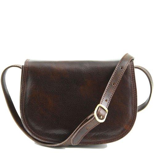Piel Al Leather Tuscany Marrón De Hombro Bolso Cerdo Para Mujer EnXBvqXWr