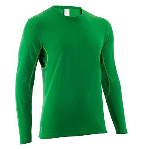 QUECHUA 8282507 Tech Fresh 50, Manga Larga, Sportshirt Unidad Camiseta, Talla S L XL, Verde: Amazon.es: Ropa y accesorios