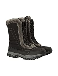 Mountain Warehouse Ohio Womens Winter Snow Boot - Ladies Warm Shoes