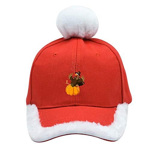 Shining Star Turkey - Christmas Santa Baseball Cap Cute Chicken Adjustable Festive Red Hat Casquette Team for Men/Women/Adult