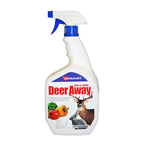 Deer Away Repellent - Havahart 32 oz. Deer Away Deer & Rabbit Repellent, Ready-to-Use Spray DA32RTU-2