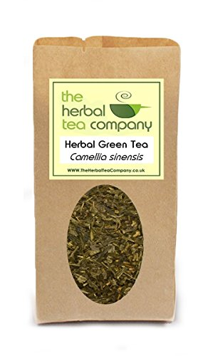 Violet Herb /Heartsease Viola tricolor Green Tea Blend - With A Hint Of Orange - Free Infuser - Makes 30+ Cups