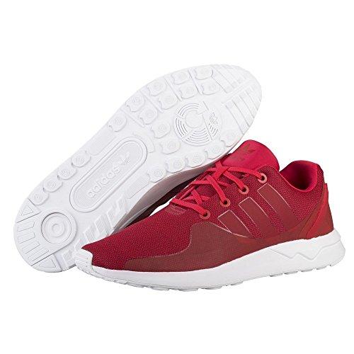 Adidas Originali Zx Flux Adv Tech Mens Scarpe Da Ginnastica Da Ginnastica Rosse-bianche