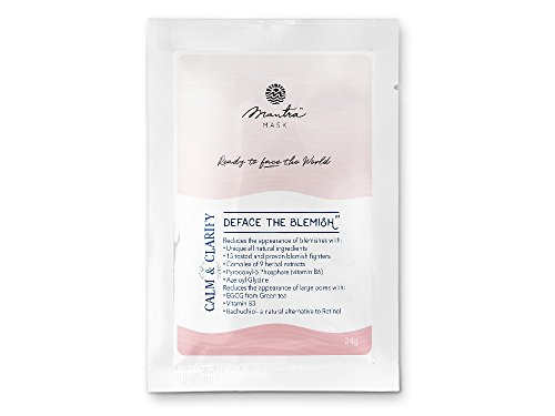 Mantra Mask: Acne and Blemish All Natural Face Mask to reduce pores and blemishes