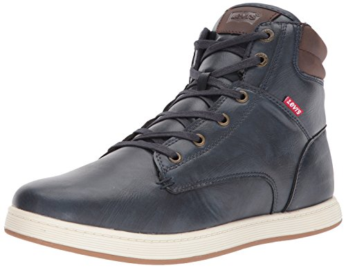 Men's Brown Burnish Levi's Daryl Sneaker Navy 4TqannwBd