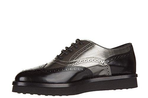 bucature en de clásico cordones nuevo francesina zapatos piel Tod's caucho mujer xAfw1qvAOa