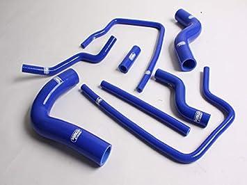 SILICONE RADIATOR HOSE For Subaru Impreza GC8 GF8 STI EJ20 EJ25 WRX 96-00 blue