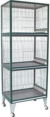 Voladero pajaros Borio 3 pisos: Amazon.es: Productos para mascotas