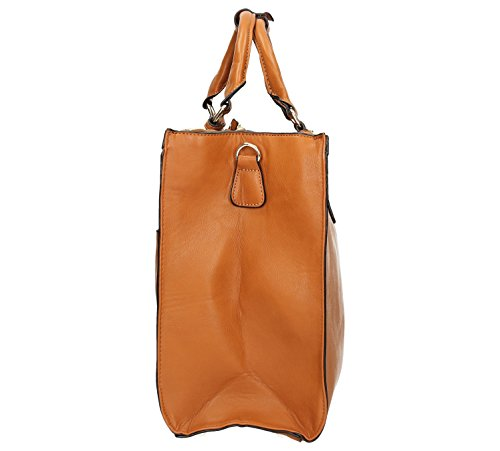 Bag Tan Marcella Cosmo Shoulder Work Marcella Cosmo SwankySwans Work Womens Tan Bag SwankySwans Womens Brown Shoulder Brown 16pxxfgq