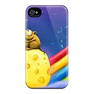 New Diy Design Mousy Love For Iphone 4/4s Cases Comfortable For Lovers And Friends For Christmas Gifts