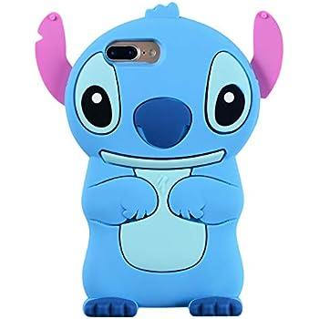 Amazon.com: Blue Stitch Case for iPhone 7+ 7Plus 8 Plus 8+ ...