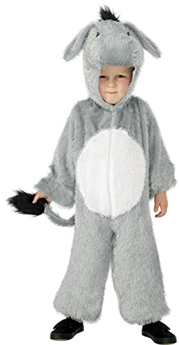 Smiffy's Donkey Costume, Grey, Small