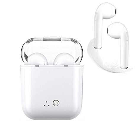 a9c871cd9ad Bluetooth Headset, i7 Wireless Headset with Headset Charging Mini Headset  with Microphone Headset, Compatible