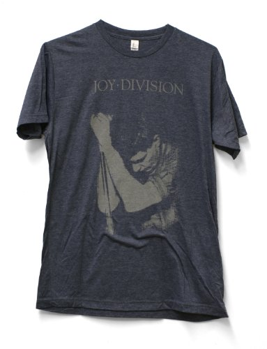 Impact Joy Division Ian Curtis Fitted Jersey Tshirt-Heather - Adult Joy T-shirt