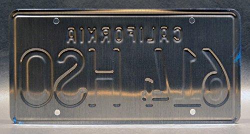 Celebrity Machines Gone in 60 Seconds LYN 274 Metal Stamped Vanity Prop License Plate LYN274 Eleanor 67 Mustang