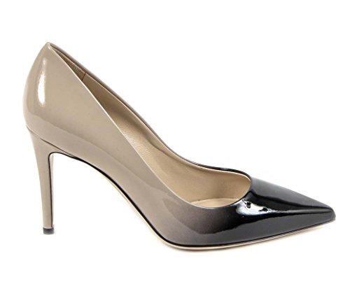 Versace 19.69 Escarpin Pompes Femme Talon 9 cm 100% Cuir Verni