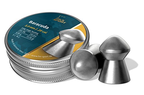 Haendler & Natermann H&N Baracuda Domed Airgun Pellets .20 Caliber / 13.27 Grains (250 Count)
