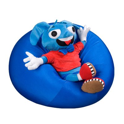 Mega Mushy Smushy Bean Bag Chair by Fun And Function - Proprioceptive Toys and Sensory Room Equipment - Comfort Seat (Regular)
