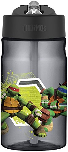 [Thermos 12 Ounce Tritan Hydration Bottle, TMNT] (Ninja Turtle Kids)