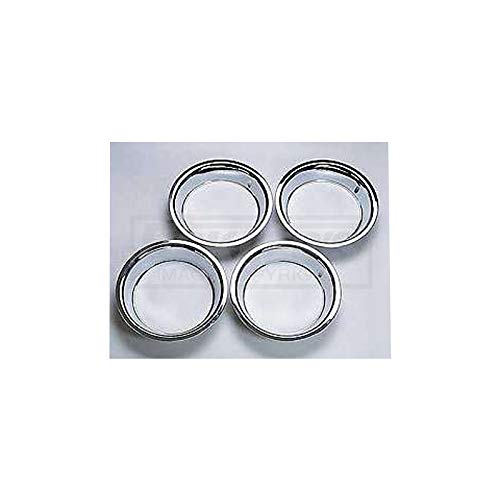 Eckler's Premier Quality Products 40337454 Chevy Rally Wheel Trim Rings 15 X 8 Stainless Steel by Premier Quality Products