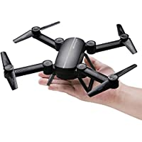 QQPOW X8 Drone UAV Fold Remote Control / Cell Phone Control Folding Quadcopter Equipped with HD Camera Support HD Video 4-Axis Gyroscope Auto Height Hold, Headless Mode Quad Rotor Helicopter