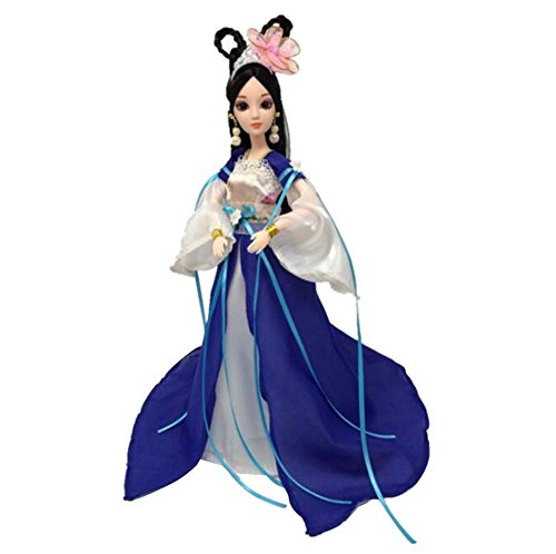 Ancient Chinese Dragon (Beautiful Palace Concubine People Dolls Chinese Ancient Costume Goddess-B2)