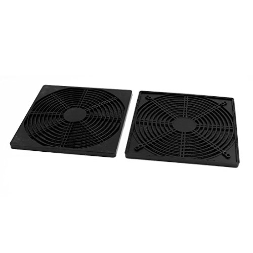 uxcell 2pcs 206mm x 206mm Dustproof Case PC Computer Case Fan Dust Filter